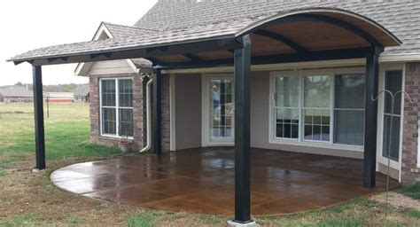 steel patio cover frame modern patio outdoor