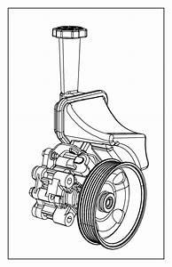 Dodge Durango Pulley  Power Steering Pump   6 2l V8