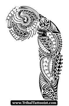 1000+ images about Tattoo ideas - sleeve on Pinterest | Half sleeve tattoos, For men and Maori