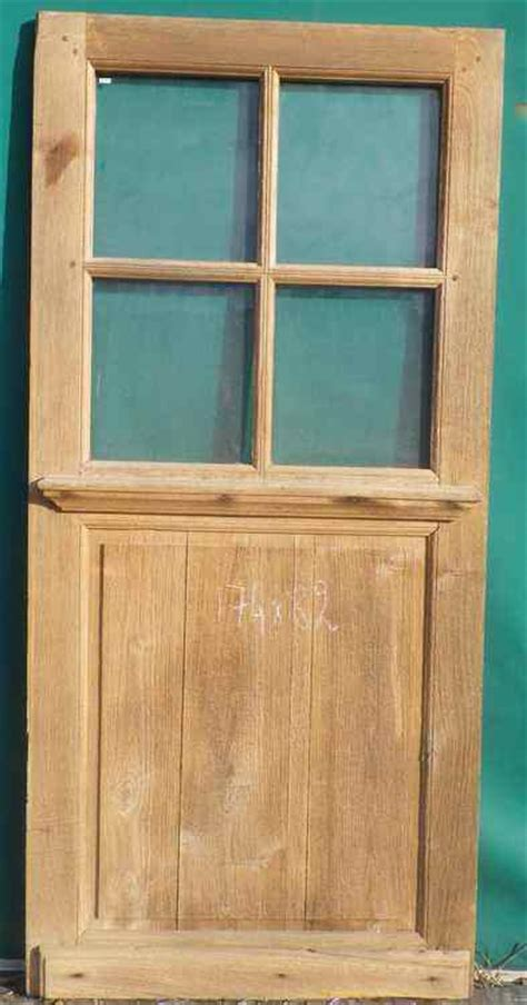c1va20 porte d interieur vitree en chene