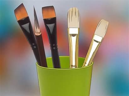 Paint Brush Brushes Paintbrush Choose Wikihow Take