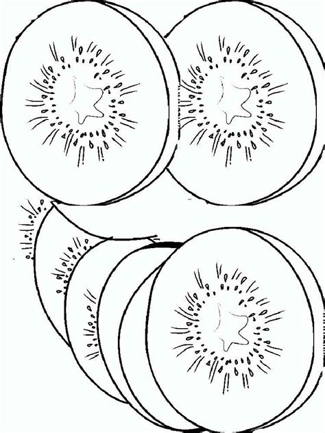kiwi fruit coloring pages   print kiwi fruit