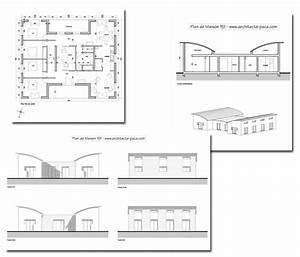 Plan Maison bois BBC de 5 pièces Villad'architecte 151,villaModerne bois