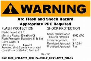 arc flash study asset engineering With arc flash danger label