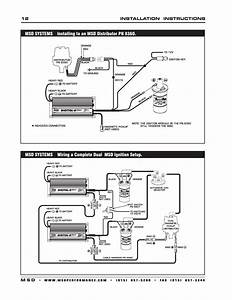 Distributor Wiring Diagram With Msd