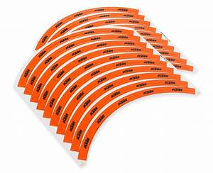 Gieco Customer Service Aomc Mx Ktm Rim Decals Orange Black