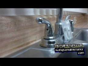 tighten moen kitchen faucet how to tighten a faucet handle how to make