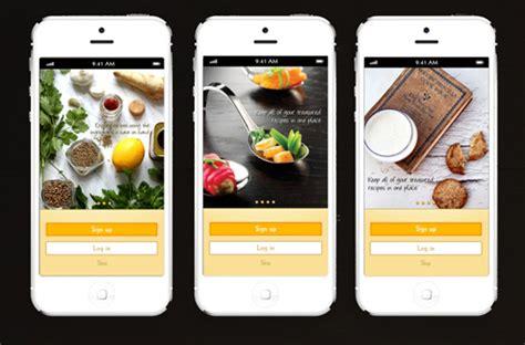 30 Tasty Food Mobile App Designs For Foodies