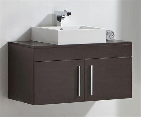 wall hung bathroom sink basin cabinet vanity unit mf ebay