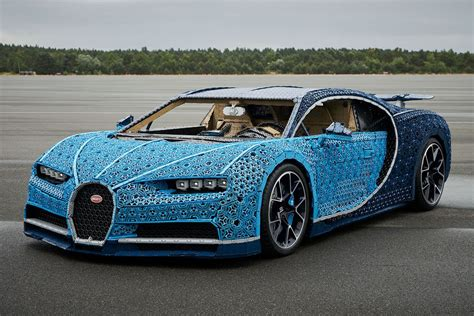 The chiron is the most powerful mass produced car available at the moment. Life-Size LEGO Technic Bugatti Chiron   HiConsumption