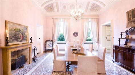 coastal dining rooms george clooney considers selling his luxury lake como
