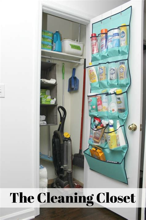 Cleaning Closet Ideas by 5 Simple Storage And Organization Ideas That Are Changing