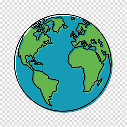 Globe Clipart Earth Turquoise Transparent Clip Robin