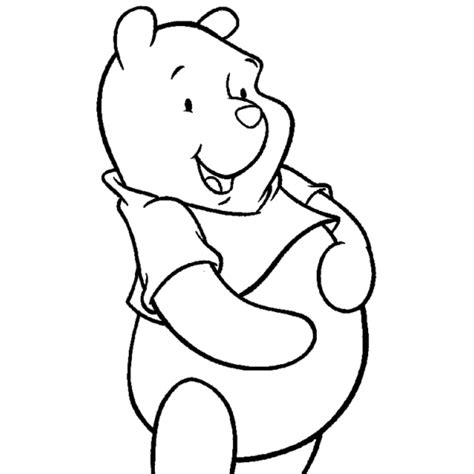 disegni disney da colorare disegno di winnie the pooh disney da colorare per bambini
