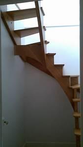 Escalier 3 4 Tournant : escalier 3 4 tournant juillet 2014 menuiserie ~ Dailycaller-alerts.com Idées de Décoration