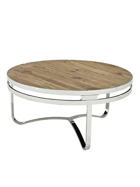 chrome and wood coffee table wood chrome circular coffee table modern furniture