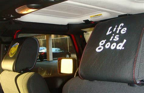Headrest Covers And Headrest Accents