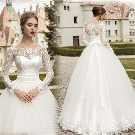 spring brand  design vintage wedding dresses  lace
