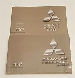 2007 Mitsubishi Eclipse  U0026 Eclipse Spyder Owners Manual