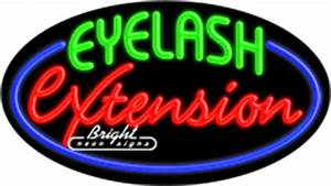 Eyelash Extension Neon Sign only $339 99 Signs E