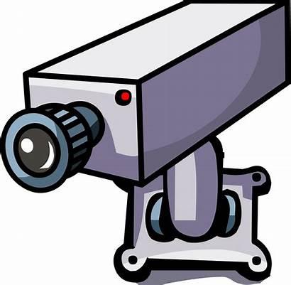 Camera Security Clipart Cameras Cctv Clip Penguin