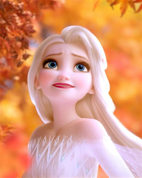 Frozen 2 fall wallpapers with autumn leaves - YouLoveIt.com