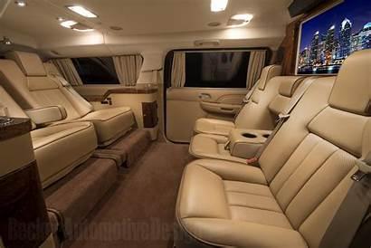 Cadillac Luxury Escalade Interior Esv Becker Sprinter