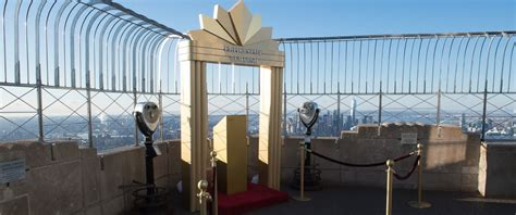 Empire State Building 103rd Floor Engagement by S Day Weddings At The Empire State Building