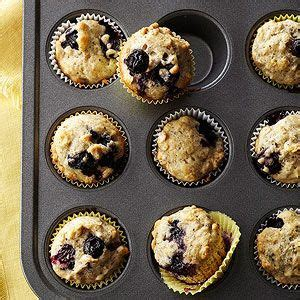 blueberry oat chia seed muffins from better homes and
