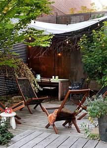 Aménager Une Cour Extérieure : 60 photos comment bien am nager sa terrasse ~ Melissatoandfro.com Idées de Décoration