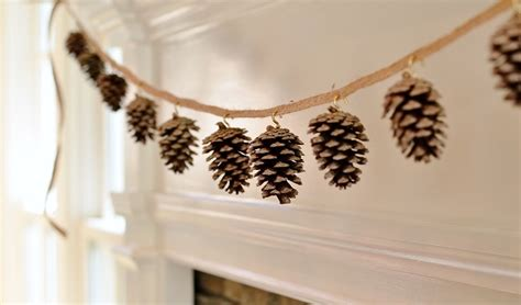 cute patterns  pinecone garland inhabit zone