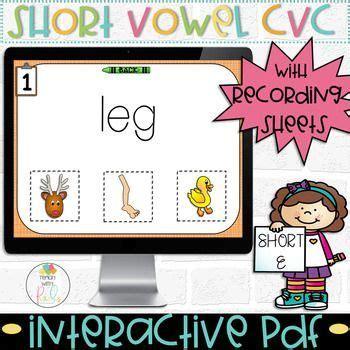 short  cvc words digital  game  images cvc