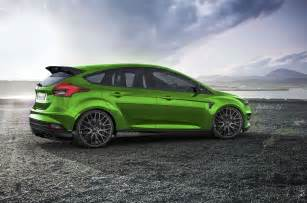 2017 Ford Focus RS Colors