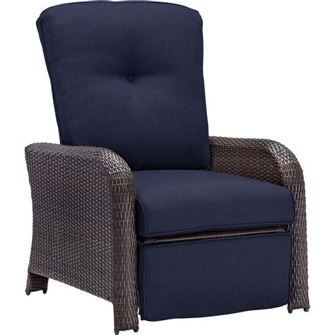 hanover strathmere  weather wicker reclining patio
