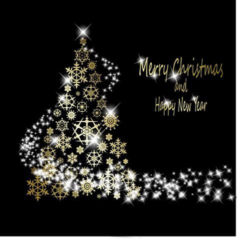 starlight christmas tree vector free vector in