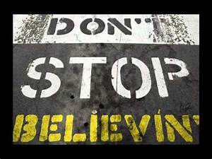 Journey - Don't stop believin' - Backing track with vocals ...