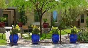 des idees de deco jardin qui apportent de la couleur a nos With idee de deco de jardin