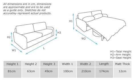 Size Sleeper Sofa Dimensions by Great Dimensions Of A Sofa Bed Truna Sofa Bed Dimensions