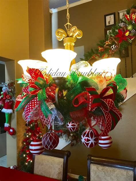 1000+ Ideas About Christmas Chandelier On Pinterest