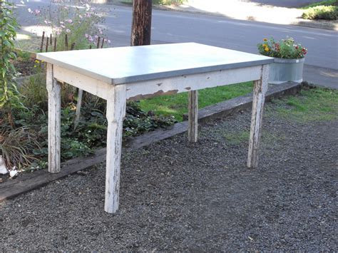 28 best galvanized metal table top aged galvanized