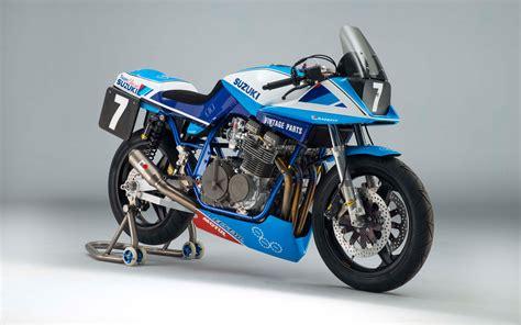 team classic suzuki gsxsd katana race bike