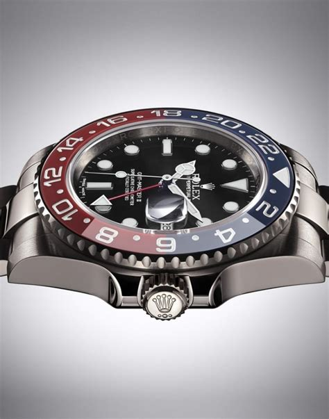 New Rolex GMT-Master II In White Gold With Pepsi Bezel ...