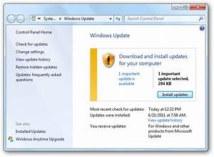 How to Install Windows 7 Updates To Keep Your PC Secure