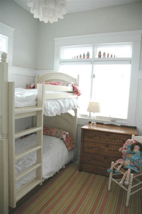 shabby chic bunk beds american girl doll bedroom ideas kids shabby chic style with twin beds bunk beds chest of drawers