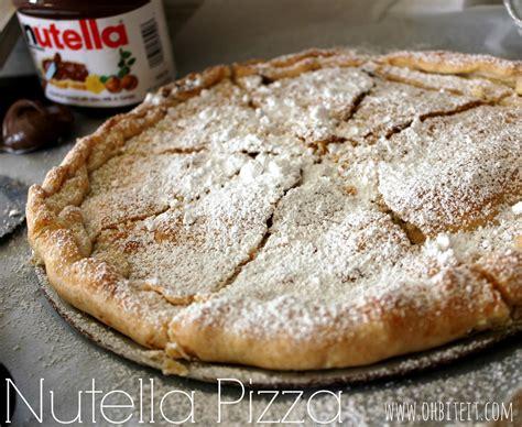 nutella pizza oh bite it