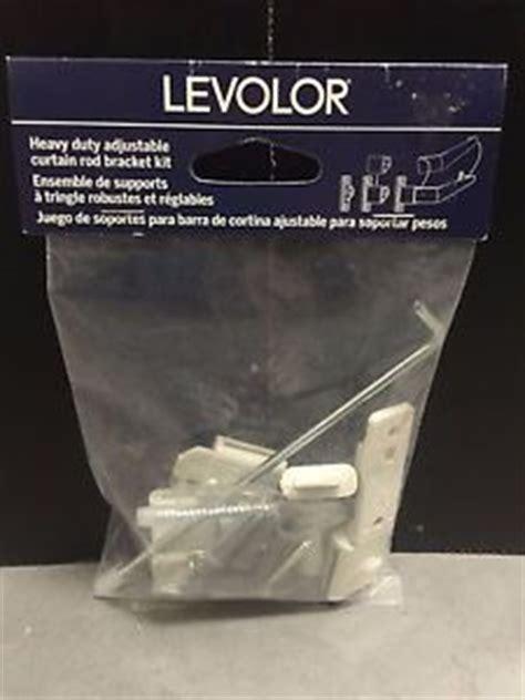 levolor heavy duty adjustable curtain rod bracket kit