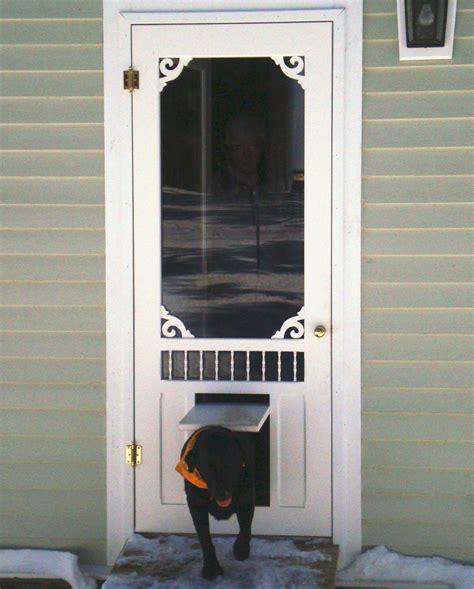 door with doggie door built in exterior doors with doors built in peytonmeyer net