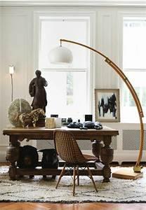 Lampadaire Salon Design : lampadaire bois conforama ~ Preciouscoupons.com Idées de Décoration