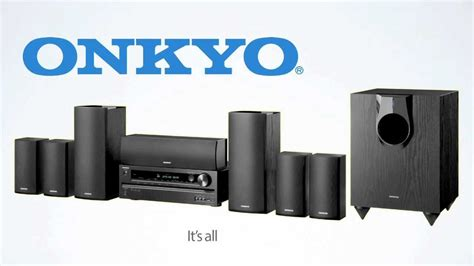 home cinema 7 1 onkyo ht s5500 7 1 channel home theater receiver speaker package
