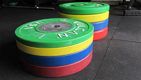 vulcan bumper comparison competition discs  kg trainers